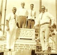 Cornerstone laying - 10-10-1926 (copy)