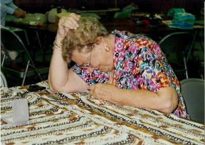 LWML Quilters 1987