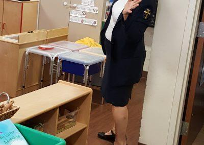 Deaconess Liz teaching