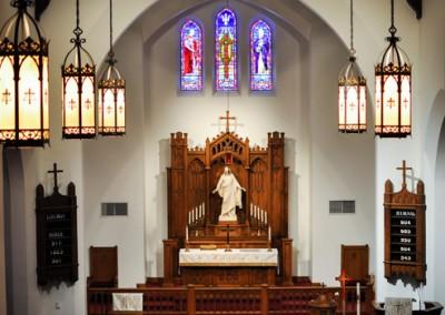 Trinity nave