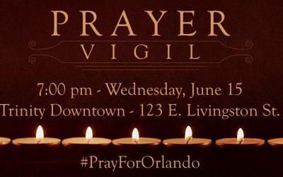 Orlando Prayer Vigil, June 15, 2016