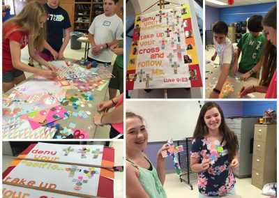 banner making collage