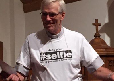 pastor selfie