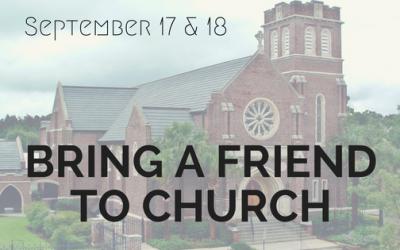 Bring a Friend to Church Weekend