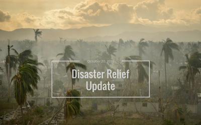 Relief Efforts After Hurricane Matthew