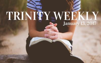 Trinity Weekly, January 13
