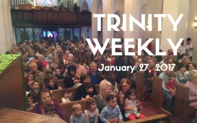 Trinity Weekly, January 27