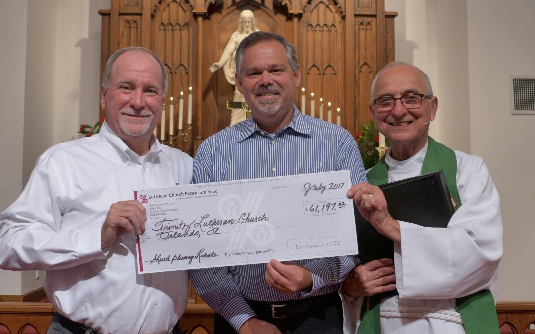 Trinity Earns $61K Thanks to You!