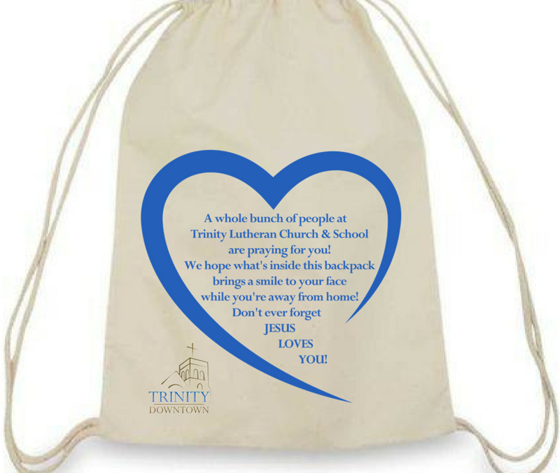 Comfort Backpacks for Children in Need