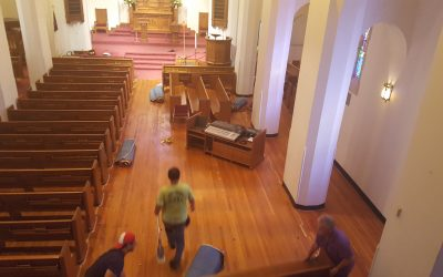 Sanctuary Renovation – Photo Update