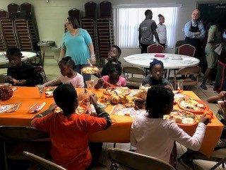 A Thanksgiving Feast at Rebecca's Garden of Hope