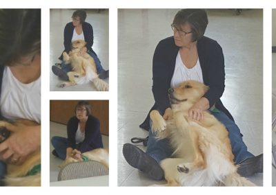 Wendy in Top Dog training