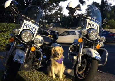 peace at NNO with police bikes